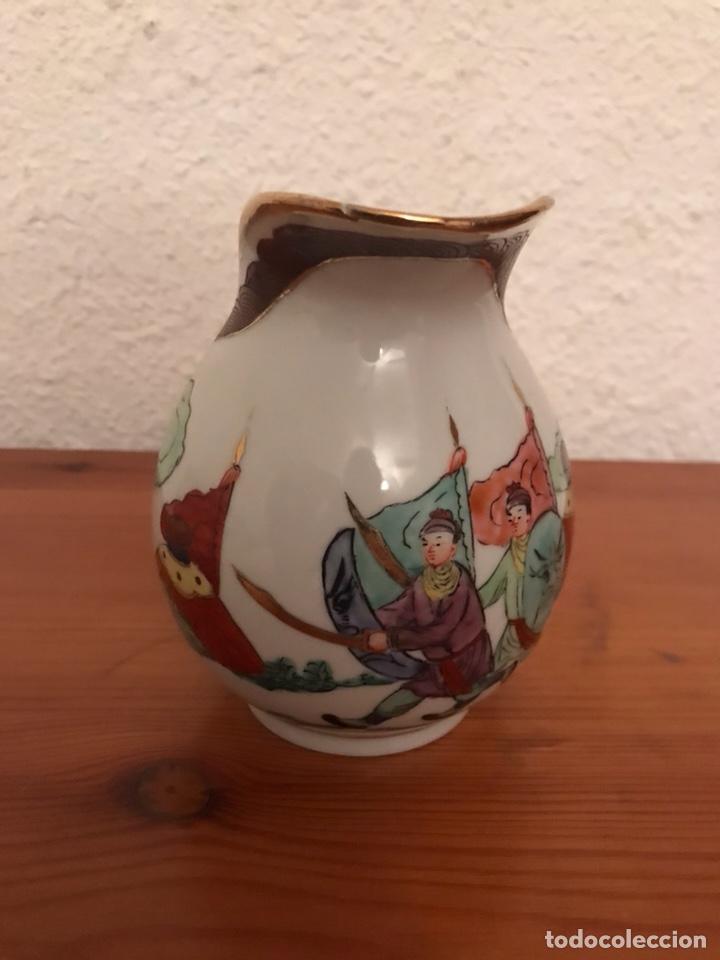 Vintage: ANTIGUA JARRA, JARRITA LECHERA, DE MACAO, EN PORCELANA FINA - Foto 2 - 123136535