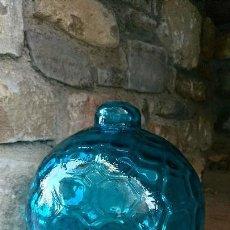 Vintage - Lampara globo azul. - 123555555