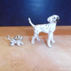 Vintage: PERROS PORCELANA GENUINE BONE CHINA. Lote 124040475