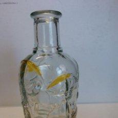 Vintage: BOTELLA DE CRISTAL. TALLADO.. Lote 184105787