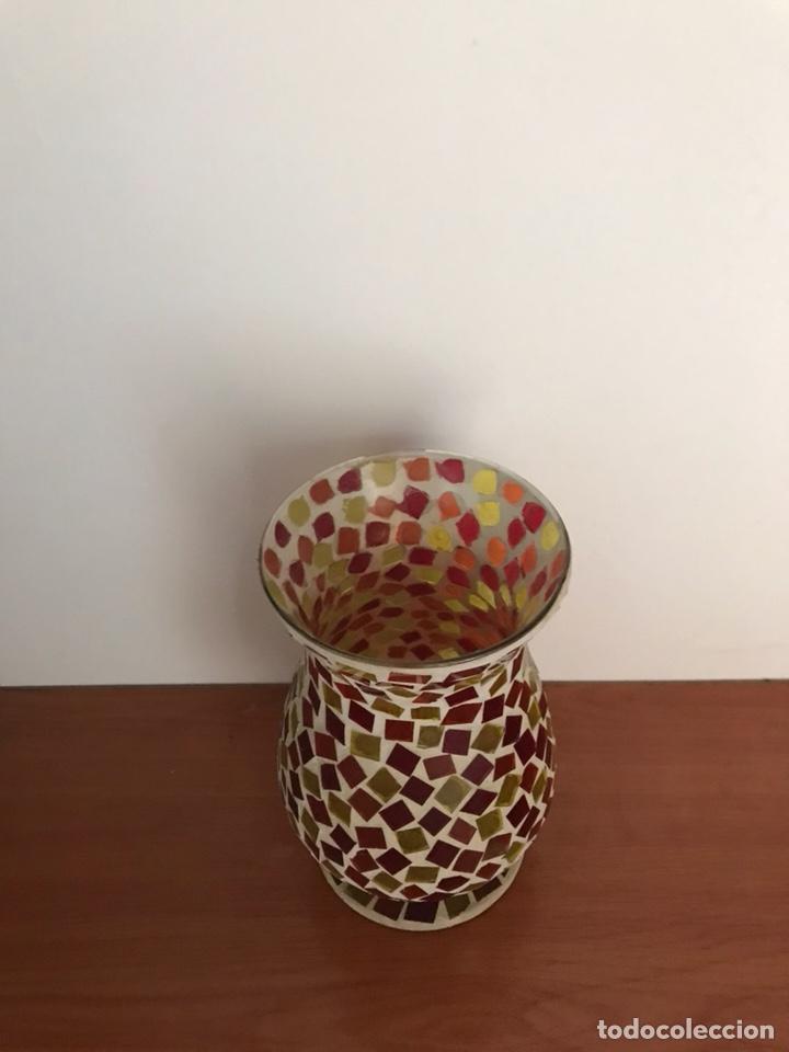 Vintage: Jarrón Cristal de colores - Foto 2 - 127113126