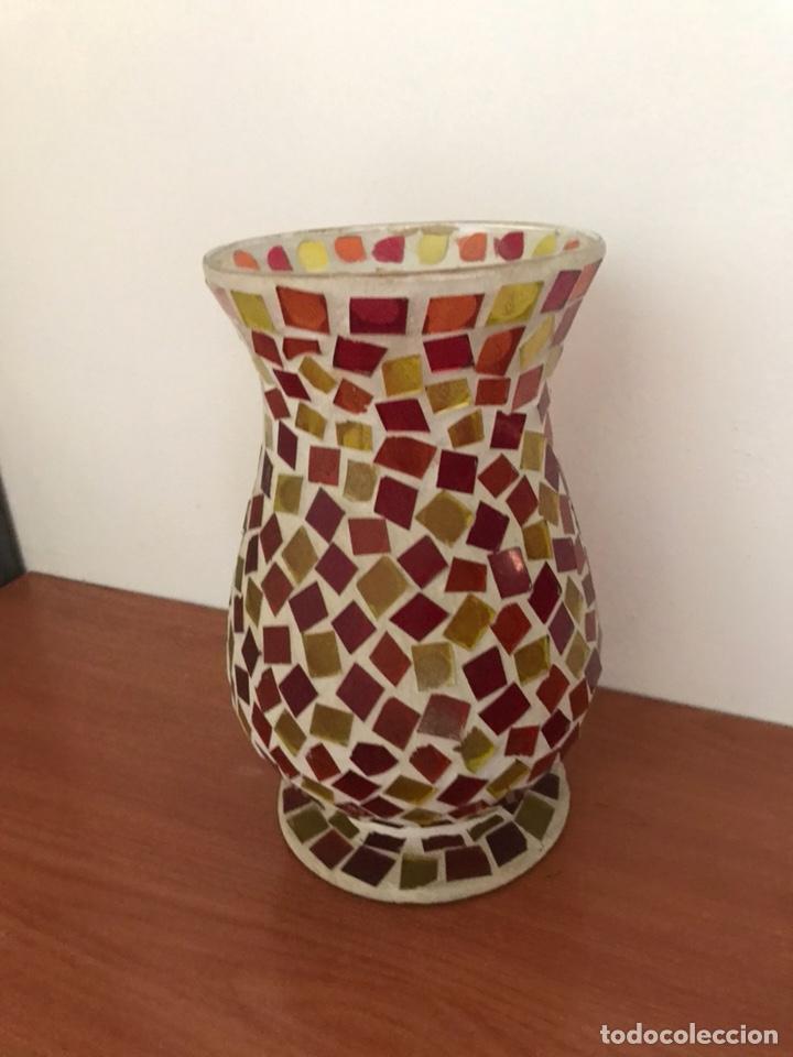 Vintage: Jarrón Cristal de colores - Foto 3 - 127113126