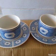 Vintage: JUEGO CAFE AZUL. Lote 127486848