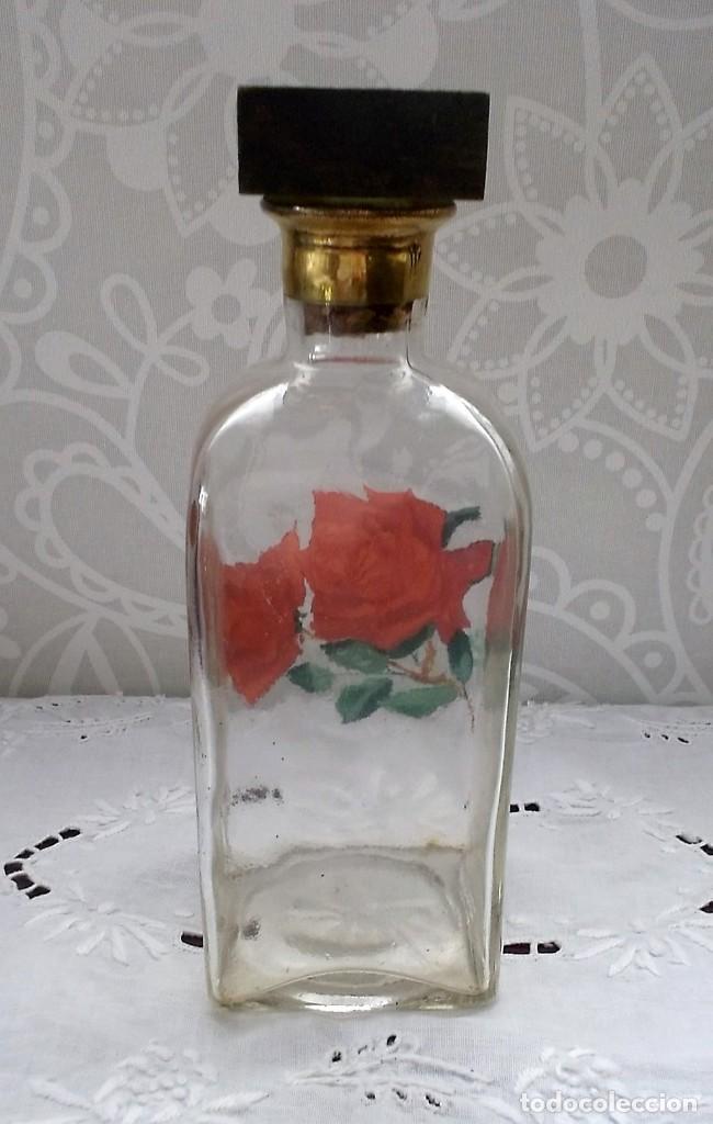 Vintage: BOTELLA DE LICOR CON TAPON DE MADERA-AÑOS 70 - Foto 3 - 128119083