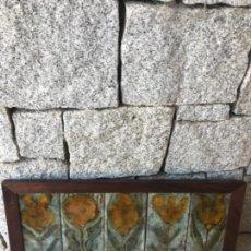 Vintage: CERAMICA ALEMANA, AZULEJOS. Lote 128486847