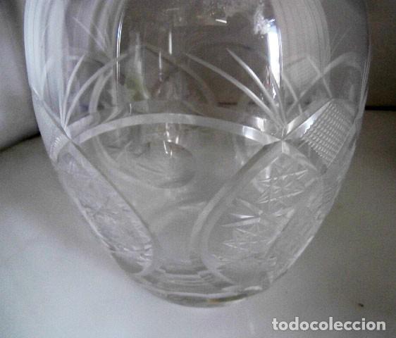 Vintage: LICORERA DE CRISTAL TALLADO - Foto 3 - 128777551