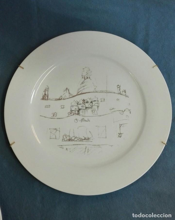 Vintage: Platos porcelana de Gaudí - Foto 2 - 128864851