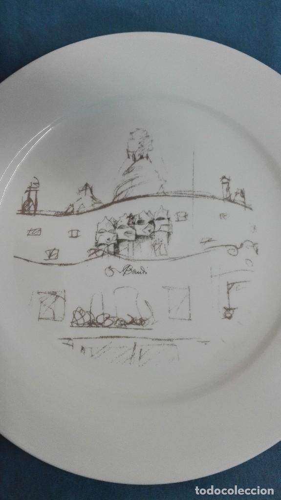Vintage: Platos porcelana de Gaudí - Foto 5 - 128864851