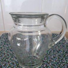 Vintage: JARRA DE CRISTAL AÑOS 50-60. Lote 130019083