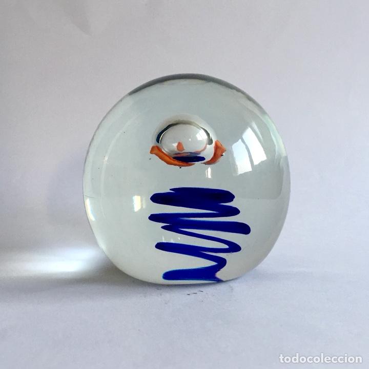 Vintage: Pisapapeles de vidrio soplado 9,2cm Vintage Paperweight - Foto 2 - 131037651