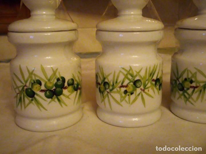 Vintage: Lote de 3 tarros con tapa de porcelana, decors de paris manufacture d'articles cadeaux porcelaine - Foto 4 - 131767630