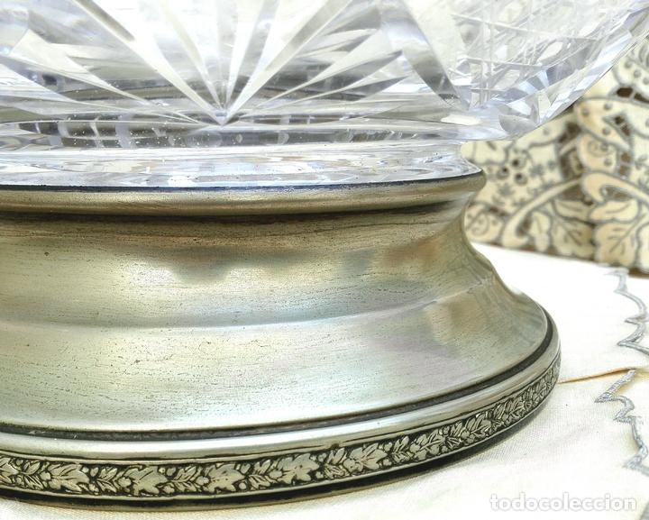 Vintage: Centro de mesa cristal - Foto 2 - 131925470