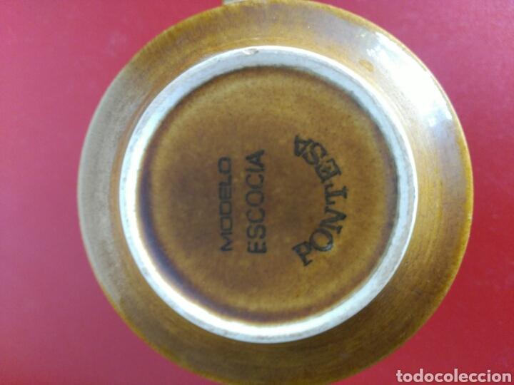 Vintage: juego 6 tazas y platos de Nescafé marca pontesa modelo escocia - Foto 2 - 132146015