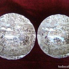 Vintage: 2 CUENCOS IDÉNTICOS DE CERÁMICA PONTESA. Lote 132171514