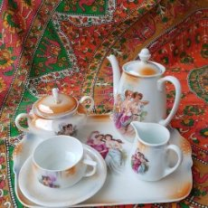Vintage: JUEGO DE CAFÉ VINTAGE AÑOS 70... Lote 132396686