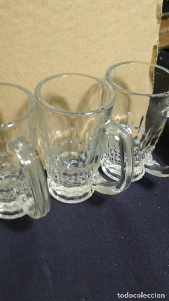 Vintage: 6 vasos de chupito antiguos CRISTAL PORTUGUES VER FOTOS - Foto 3 - 132960586