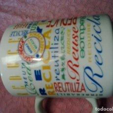 Vintage - TAZA GREENPEACE AÑOS 80-90 RECICLA - 133224938