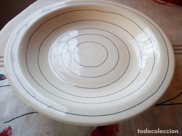 Vintage: Gran plato de cerámica holdenby made in portugal,pintado a mano - Foto 2 - 133251594