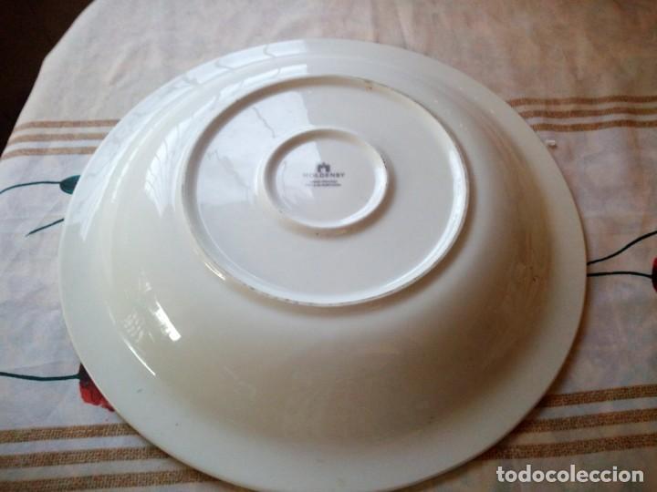 Vintage: Gran plato de cerámica holdenby made in portugal,pintado a mano - Foto 4 - 133251594