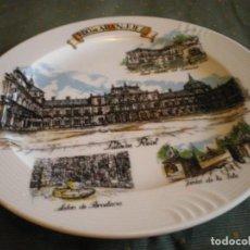 Vintage: PLATO PORCELANA FINA DE ARANJUEZ EN PERFECTO ESTADO. Lote 134433142