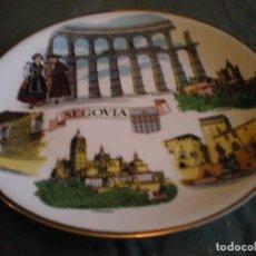 Vintage: PLATO PORCELANA FINA DE SEGOVIA EN PERFECTO ESTADO. Lote 134433382