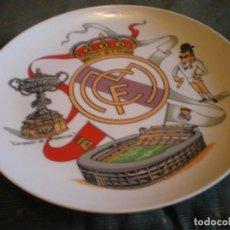 Vintage: PLATO REAL MADRID AÑOS 90 EN PORCELANA FINA EN PERFECTO ESTADO. Lote 134434298