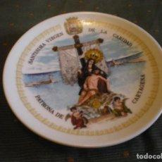 Vintage: PLATO PORCELANA FINA DE CARTAGENA ( ESPAÑA ) EN PERFECTO ESTADO. Lote 134434694