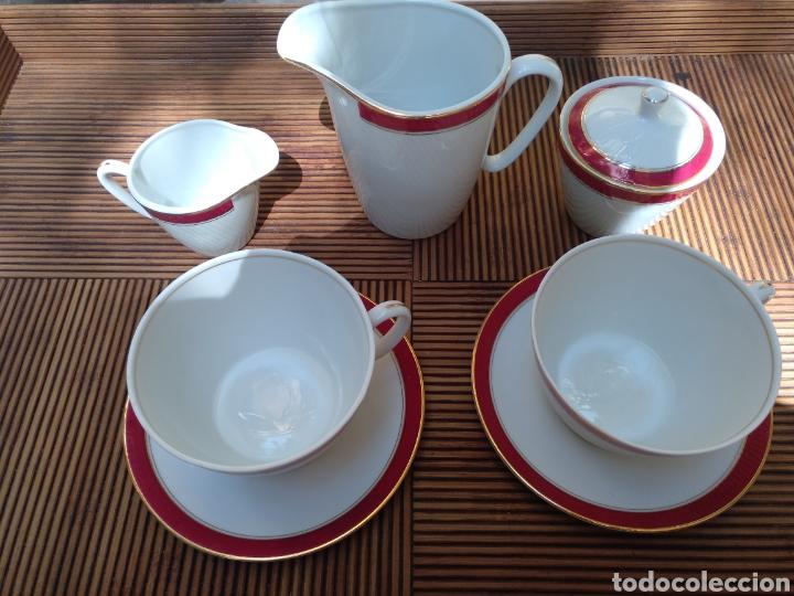 JUEGO DESAYUNO (Vintage - Decoración - Porcelanas y Cerámicas)