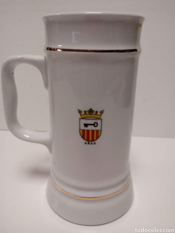Vintage: jarra de porcelana recuerdo vielha-val d'aran - Foto 2 - 134882766