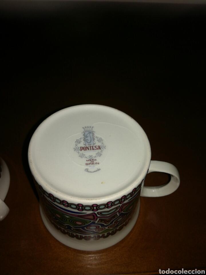 Vintage: Pareja de tazas vintage Pontesa - Foto 3 - 135010074