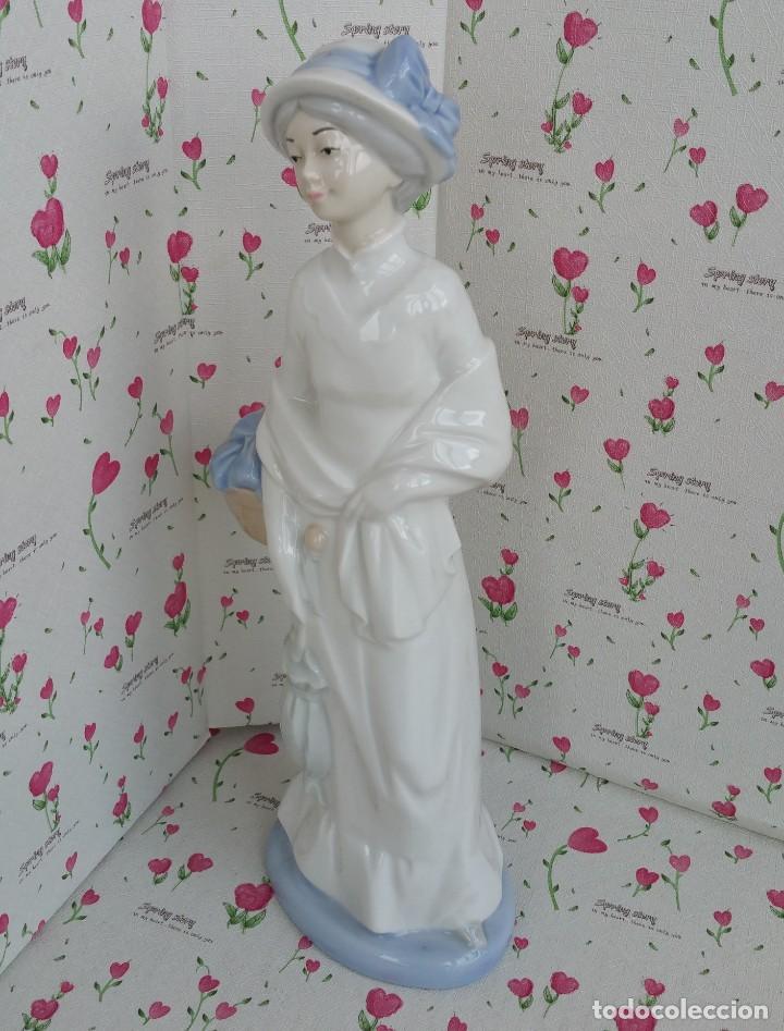 figura dama de porcegama - cuart de poblet - va - Kaufen Porzellan ...