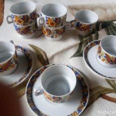 Vintage: TAZAS DE CAFE VINTAGE AÑOS 60-70. Lote 135933714