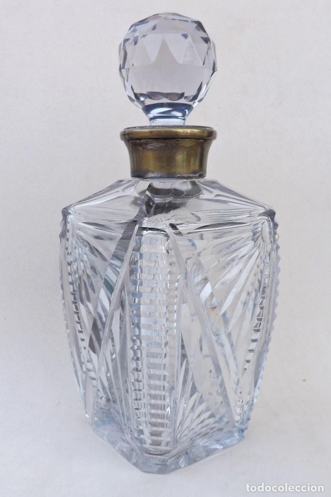 Vintage: LICORERA DE CRISTAL TALLADO - Foto 2 - 136078910
