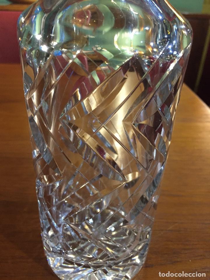 Vintage: Licorera en cristal tallado - Foto 2 - 136573278