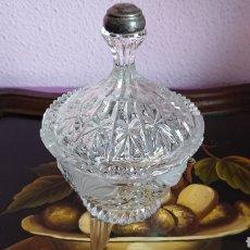 Vintage: BOMBONERA CRISTAL DE BOHEMIA. Lote 105729143