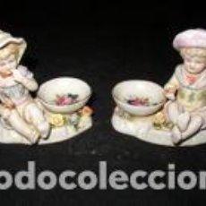 Vintage: SET FIGURAS NIÑOS. Lote 137615378