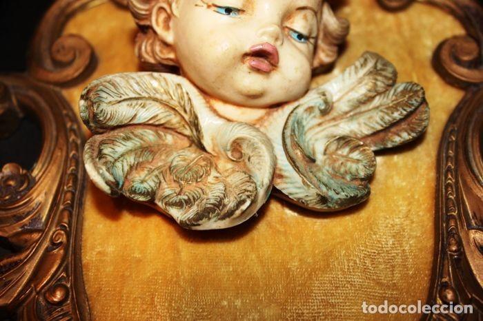 Vintage: Lote de ángeles de pared Vintage. Años 60/70 - Foto 4 - 138096814