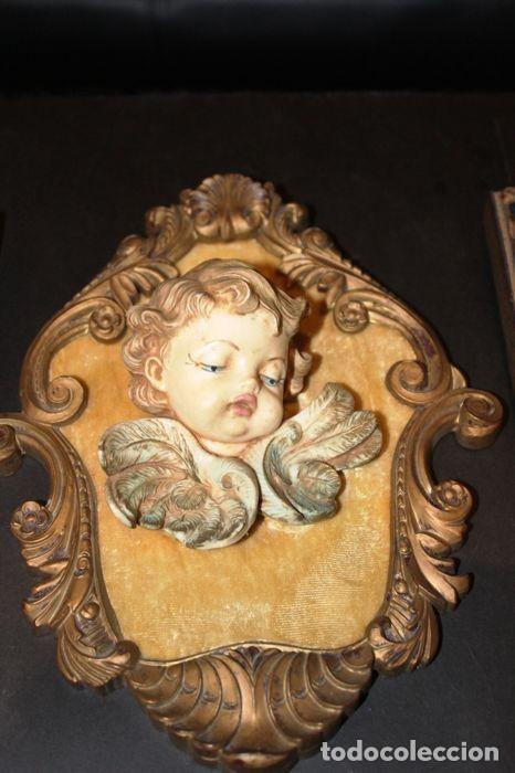 Vintage: Lote de ángeles de pared Vintage. Años 60/70 - Foto 5 - 138096814