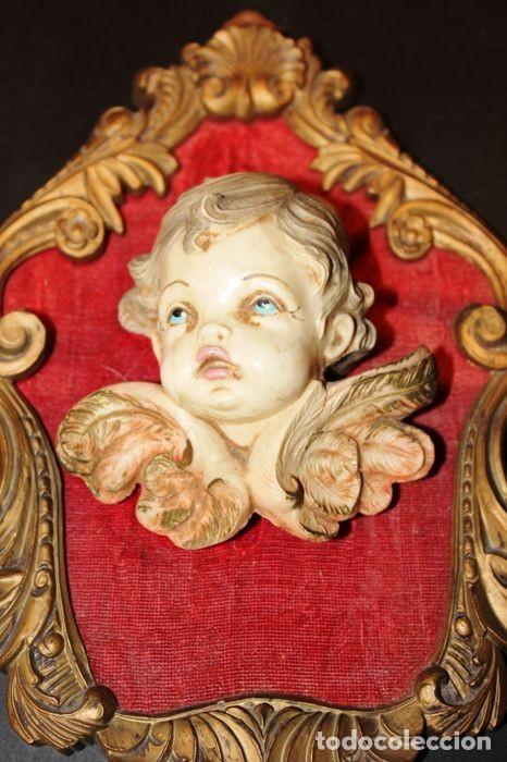 Vintage: Lote de ángeles de pared Vintage. Años 60/70 - Foto 11 - 138096814