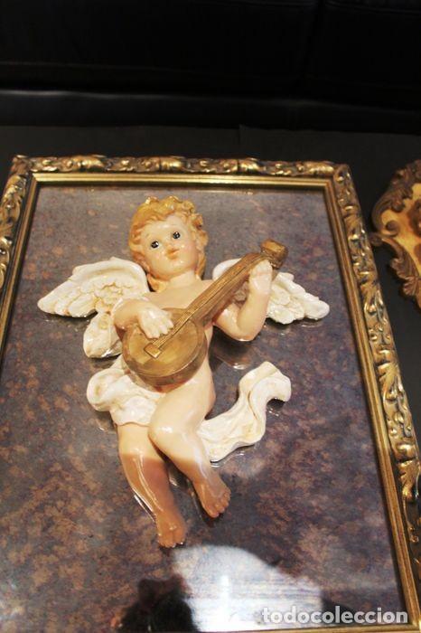 Vintage: Lote de ángeles de pared Vintage. Años 60/70 - Foto 14 - 138096814