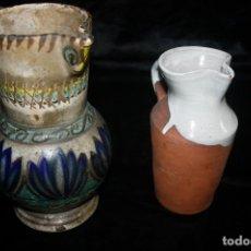 Vintage - Lote Jarras rústicas - 138559242