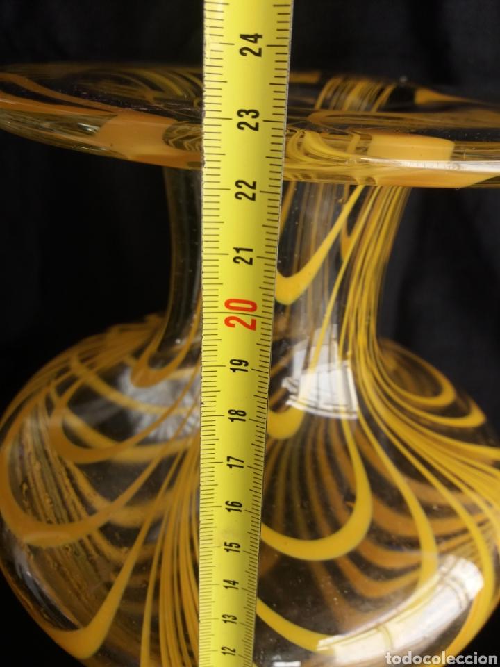 Vintage: Gran jarron florero cristal Murano original vintage años 70 - Foto 3 - 138672549