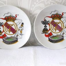 Vintage: PLATO DEL REAL MADRID-15 CM. Lote 210222550