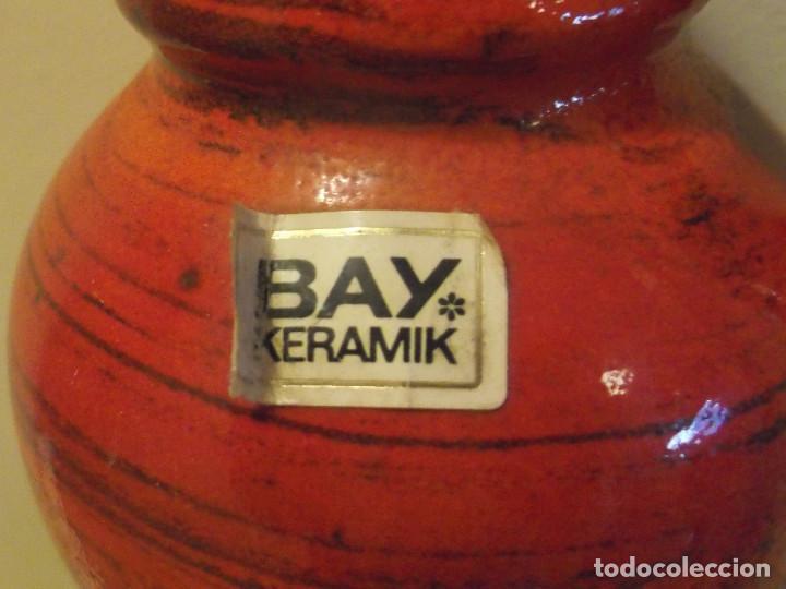 Vintage: Jarrón BAY keramik West Germany. Cerámica años 60. - Foto 2 - 139296430