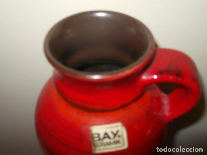 Vintage: Jarrón BAY keramik West Germany. Cerámica años 60. - Foto 3 - 139296430