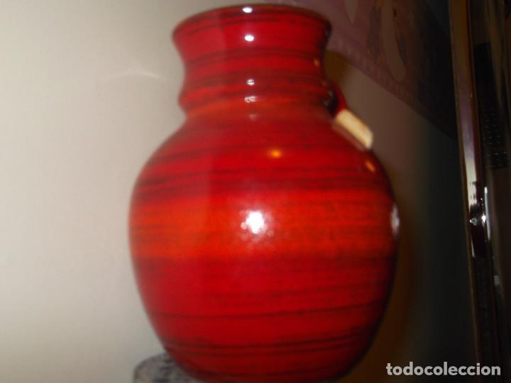 Vintage: Jarrón BAY keramik West Germany. Cerámica años 60. - Foto 4 - 139296430