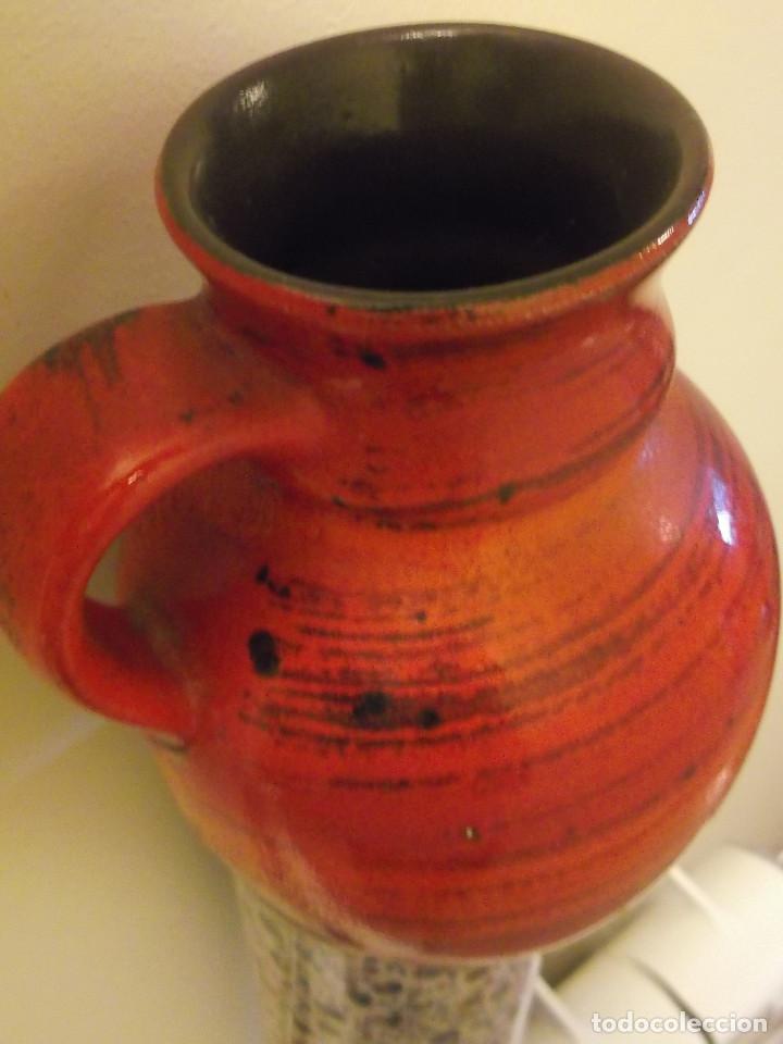 Vintage: Jarrón BAY keramik West Germany. Cerámica años 60. - Foto 8 - 139296430