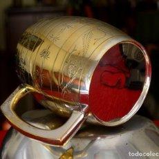 Vintage: PRECIOSA JARRA COMPLETAMENTE CHAPADA EN PLATA. Lote 139602910