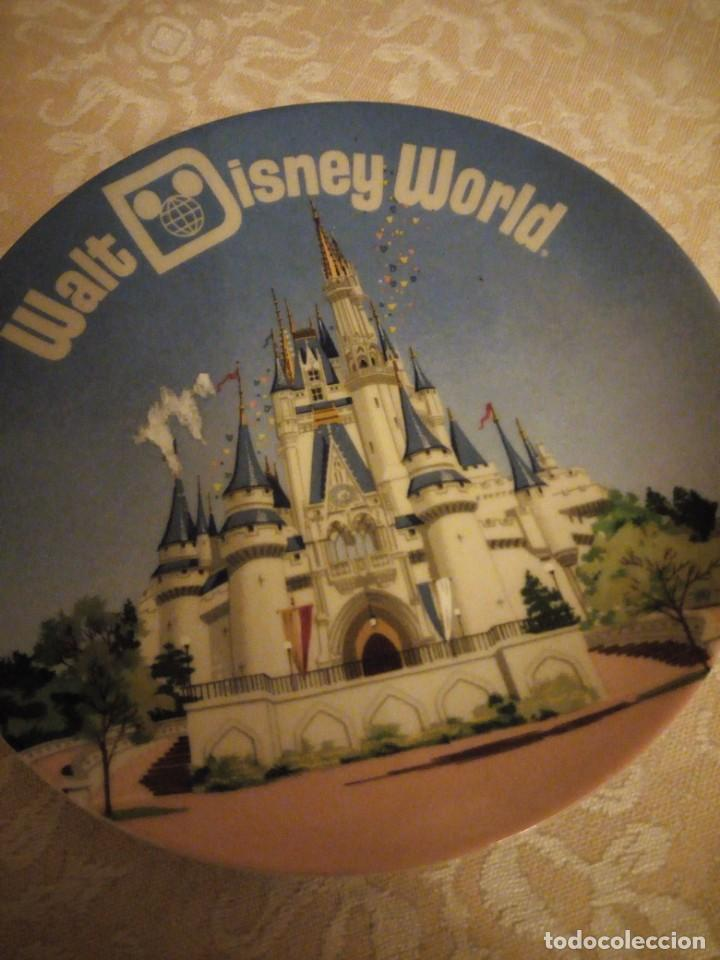 Vintage: Bonito plato walt disney world made ij japan. - Foto 2 - 139666258