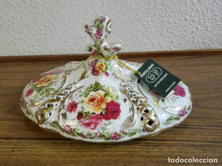 Vintage: CENTRO DE MESA PORCELANA - Foto 5 - 139750210